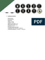 Lomas de Lachay Informe