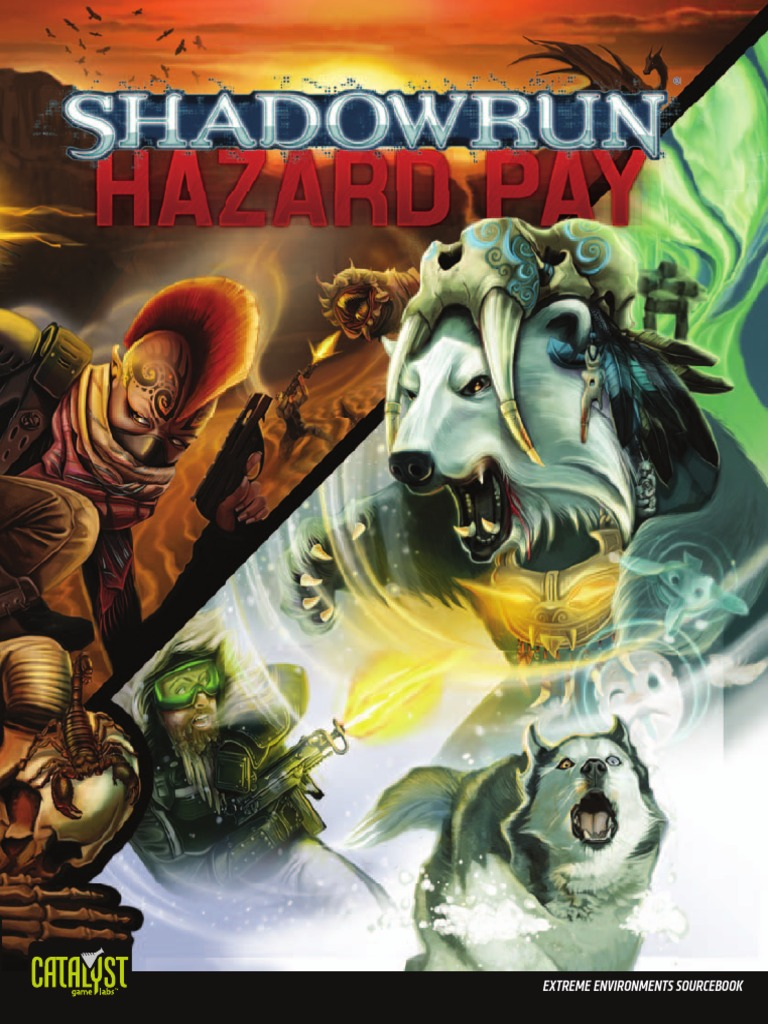 Shadowrun 4e Hazard Pay 2 Earth Environmentalism Ps4blazblue Chrono Phantasma Extend Reg All