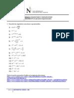 HT 04 2013-2 Ecuaciones Exponenciales