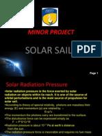 Solar Sails- A future in space