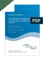 Ausfallsicherheit bei der Verwendung von dynamischen Maßnahmen zur Verhinderung von Buffer-Overflow-Angriffen