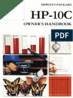 HP-10C Owner's Handbook 1982 Color