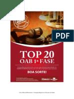 Apostila Top 20 - OAB Prateorium