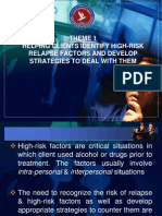 Theme 1 - Helping Clients Identify High-Risk RP Factors (8)