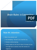 Attention Brain Rule