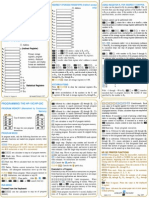 HP-19C & 29C Quick Reference Guide 1977 Color