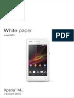 Whitepaper en C2004 C2005 Xperia m