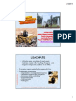 22 Leachate Management