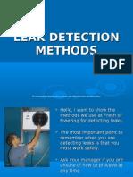 VC Leak Detection Methods