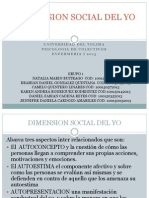 Dimension Social Del Yo