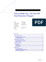 Oracle Multi-Org - AR and OM Data Structure Changes