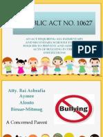 Philippine Anti-Bullying Act of 2013