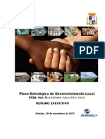 Resumo Executivo PEDL AGENDA PELOTAS 2022 Atualizado