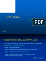STATISTIKA BARU