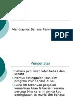 Mendiagnos Bahasa Penulisan