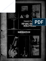 HP-19C & 29C Solutions Navigation 1977 B&W