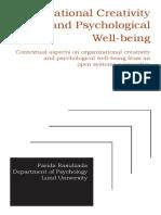 Wellbeing Proj