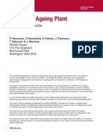 Ageing Plant Summary Guide