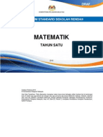 Dokumen Standard Matematik Thn1