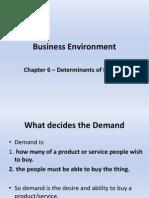 Business Environment Chapter 6 Demand ++