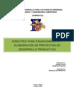 Directriz Para Proyectos Productivos - Ultimo