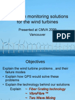 Condition Monitoring Solutions for Wind Turbines