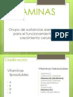 Vitaminas y antibióticos