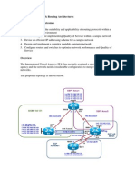 Network Routing Architectures Assignment