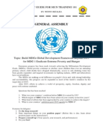 General Assembly Study Guide