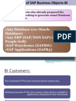 SAP BOBJ Road Map