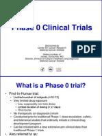 Phase 0 Trials