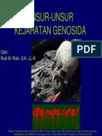 Unsur-unsur Kejahatan Genosida