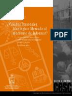 Cecilia Dastres - Visiones personales, Ideología o Mercado al momento de informar
