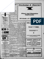 Superintendant Chavez 1912 Louisiana Creole