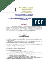 Constituição do Estado RO