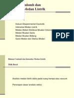 2Hk. Coulomb & Intensitas Medan Listrik 270107.ppt