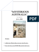 Mysterious Australia Newsletter - July 2013
