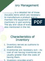 8. Inventory Management