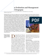 Update on the Evaluation and Management of Functional Dyspepsia