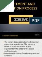 Recruitment in IBM