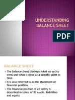Understanding Balance Sheet