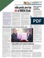 TheSun 2009-06-25 Page16 Bmedia Posts Pre-tax Profit of Rm36.42mil