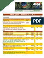 Laser Printer Cartridges 05 07 2011