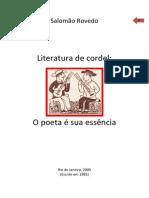 Salomão Rovedo - Literatura de Cordel (ensaio)