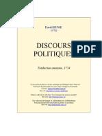 Hume Discours Politiques