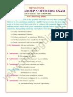 IBPS RRB POs Previous Paper