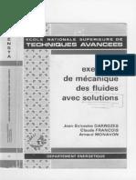 Mecanique Des Fluides - Exercices Avec Solution ENSTA 186p