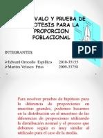 Int y Prueba de Hipo.