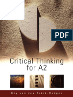 30910060 Critical Thinking for A2 Level