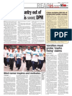 TheSun 2009-06-26 Page02 Govt to Lift Country Out of Economic Crisis Soon Dpm